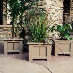 Flower Planters & Trash Cans